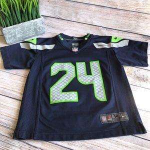 Official Lynch Seattle Seahawks jersey EUC KIDS M